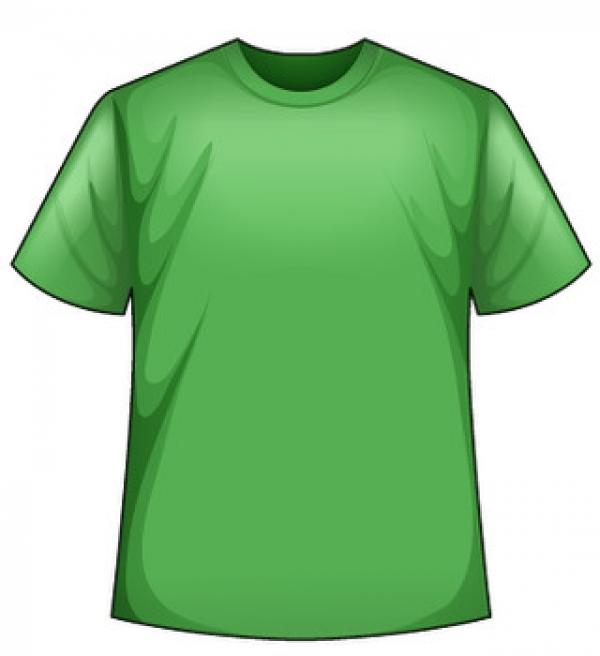 Zelené tričko s potlačou