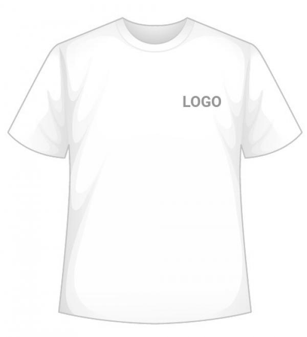 Biele tričko s Vašim LOGO